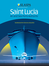 Saint Lucia Air and Seaports book cover
